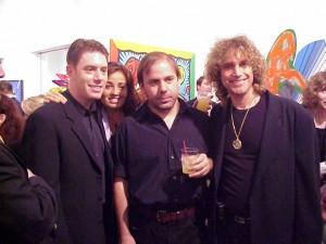 Ace, Burton, Ivan Jenson, and Zoe